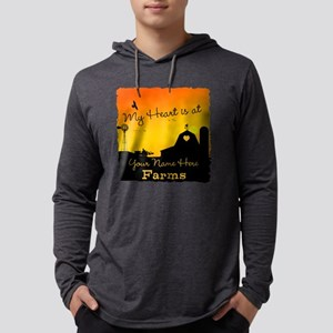 My Favorite Farm Mens Hooded Shirt