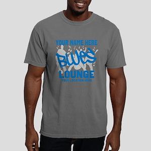 Custom Blues Lounge Mens Comfort Colors Shirt