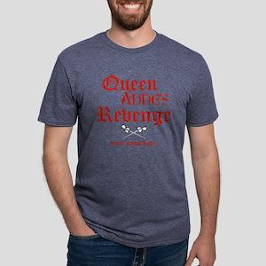 Queen Annes Revenge Mens Tri-blend T-Shirt