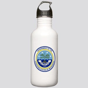 Micronesia Coat Of Arms Stainless Water Bottle 1.0