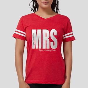 Wedding Mrs Womens Football Shirt