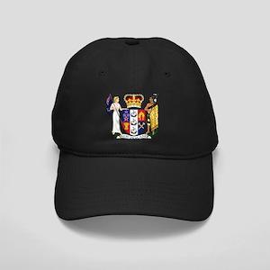 New Zealand Coat Of Arms Black Cap
