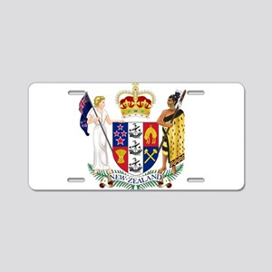 New Zealand Coat Of Arms Aluminum License Plate