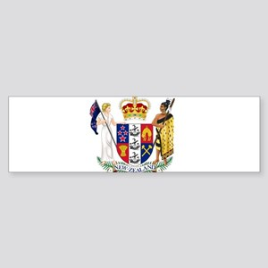 New Zealand Coat Of Arms Sticker (Bumper)
