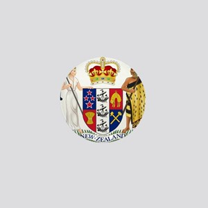 New Zealand Coat Of Arms Mini Button