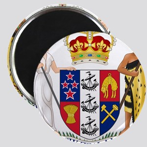 New Zealand Coat Of Arms Magnet