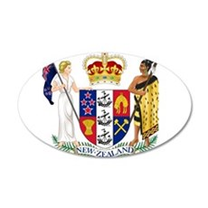 New Zealand Coat Of Arms Wall Decal