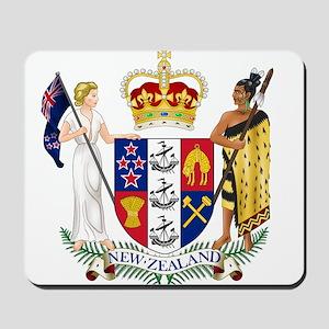 New Zealand Coat Of Arms Mousepad