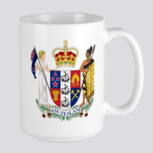 New Zealand Coat Of Arms Large Mug