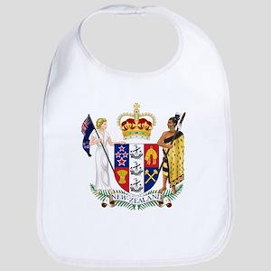 New Zealand Coat Of Arms Bib