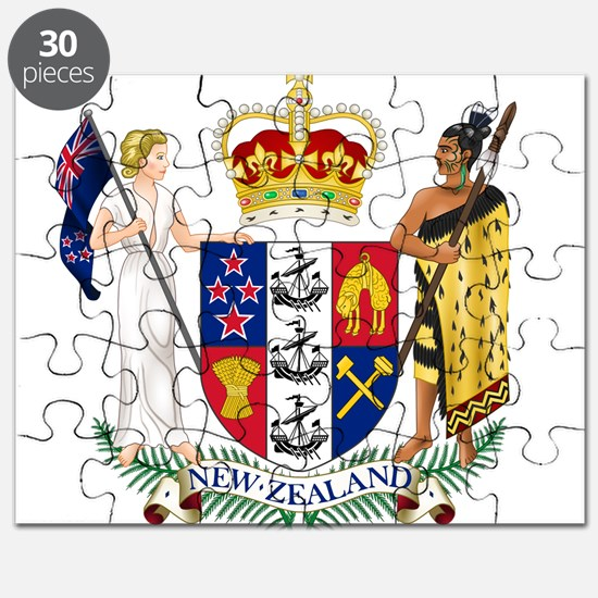 New Zealand Coat Of Arms Puzzle
