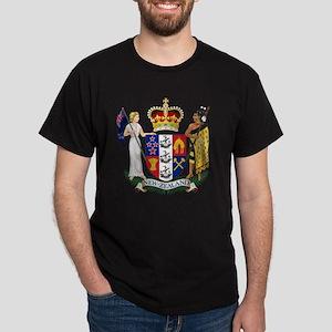 New Zealand Coat Of Arms Dark T-Shirt