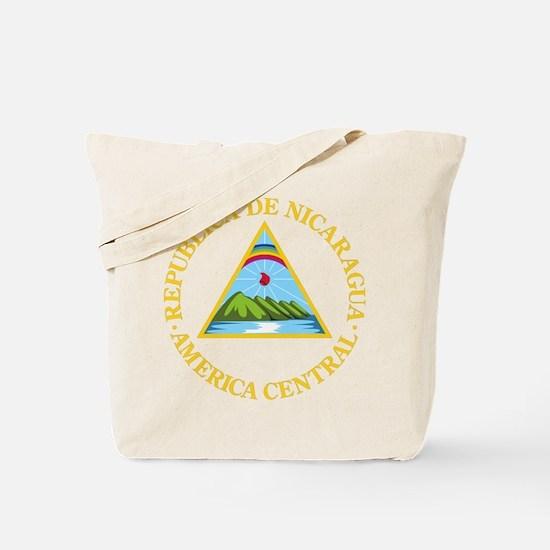 Nicaragua Coat Of Arms Tote Bag