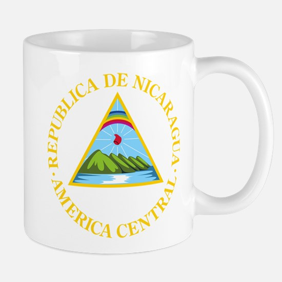 Nicaragua Coat Of Arms Mug