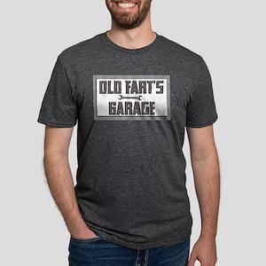old fart garage Mens Tri-blend T-Shirt