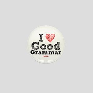 Good Grammar Mini Button