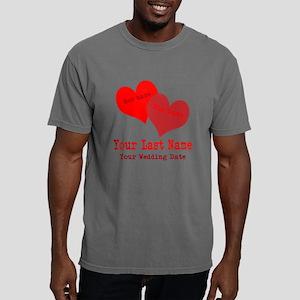 Wedding Hearts Mens Comfort Colors Shirt