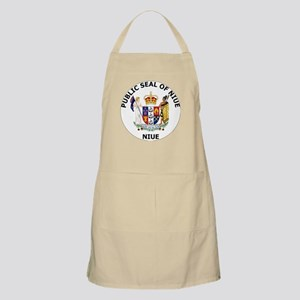 Niue Coat Of Arms Apron