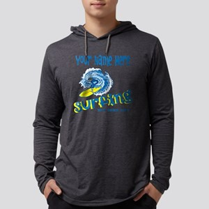 Surfing Mens Hooded Shirt