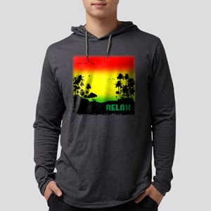 relaxation Mens Hooded Shirt