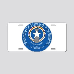 """""""Northern Mariana Islands Coat Of Arms"""" Aluminum L"""