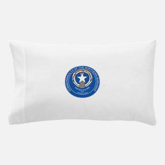 """Northern Mariana Islands Coat Of Arms"" Pillow Cas"