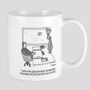 Witness Cartoon 1727 11 oz Ceramic Mug