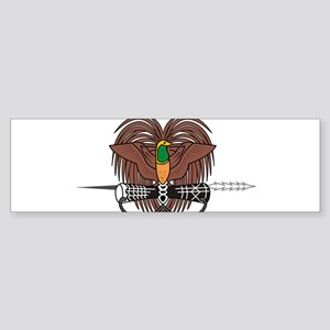 Papua new Guinea Coat Of Arms Sticker (Bumper)