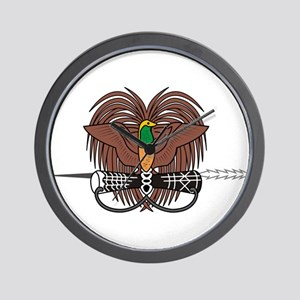 Papua new Guinea Coat Of Arms Wall Clock