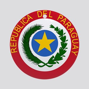 Paraguay Coat Of Arms Ornament (Round)