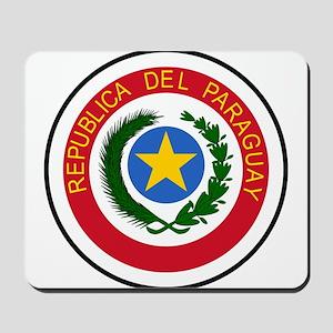 Paraguay Coat Of Arms Mousepad