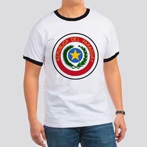 Paraguay Coat Of Arms Ringer T