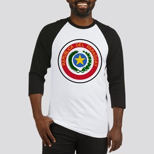 Paraguay Coat Of Arms Baseball Jersey