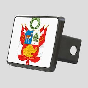 Peru Coat Of Arms Rectangular Hitch Cover
