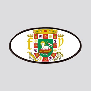 Puerto Rico Coat Of Arms Patches