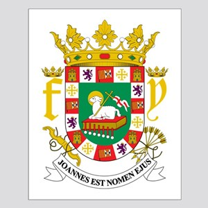 Puerto Rico Coat Of Arms Small Poster