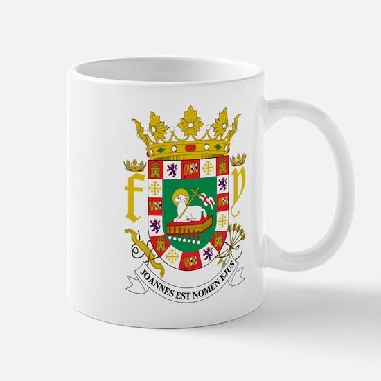 Puerto Rico Coat Of Arms Mug