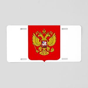 Russia Coat Of Arms Aluminum License Plate