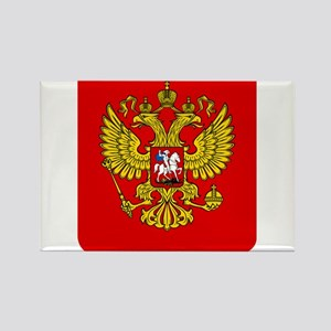 Russia Coat Of Arms Rectangle Magnet
