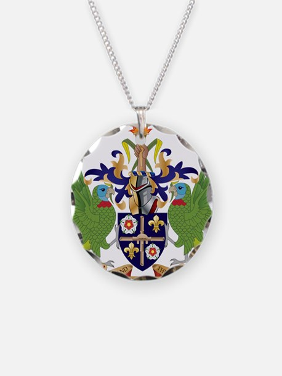 Saint Lucia Coat Of Arms Necklace