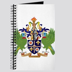 Saint Lucia Coat Of Arms Journal