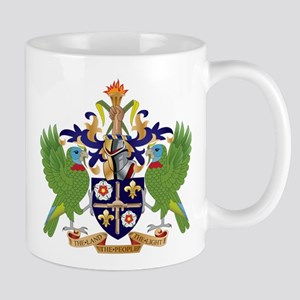 Saint Lucia Coat Of Arms Mug