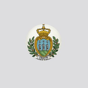 San Marino Coat Of Arms Mini Button