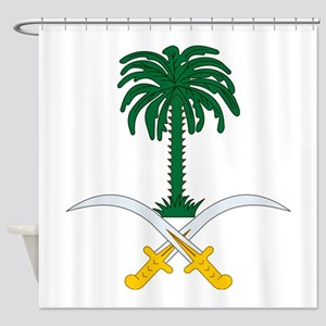 Saudi Arabia Coat Of Arms Shower Curtain