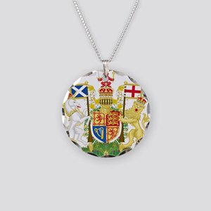 Scotland Coat Of Arms Necklace Circle Charm