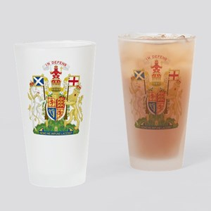 Scotland Coat Of Arms Drinking Glass