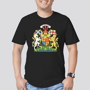 Scotland Coat Of Arms Men's Fitted T-Shirt (dark)