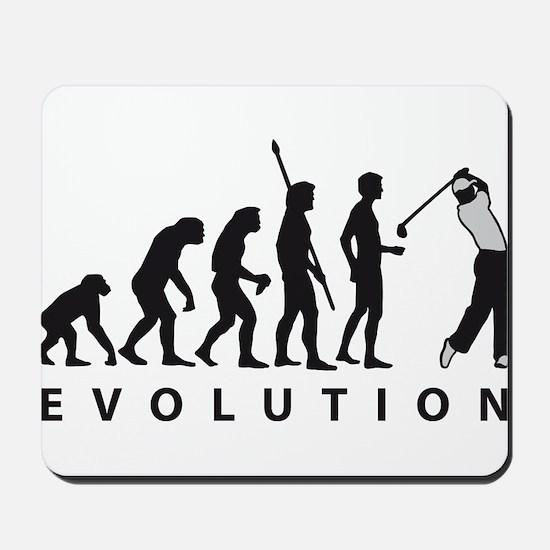 evolution golf Mousepad