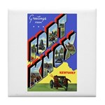 Fort Knox Kentucky Tile Coaster