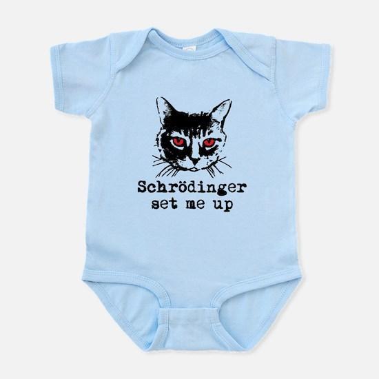 Schrodinger Set Me Up Infant Bodysuit